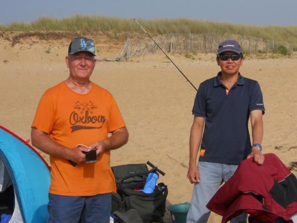 Eric et minh surfcasting club de caen