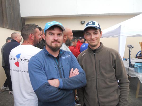 Mathieu et thomas surfcasting club de caen