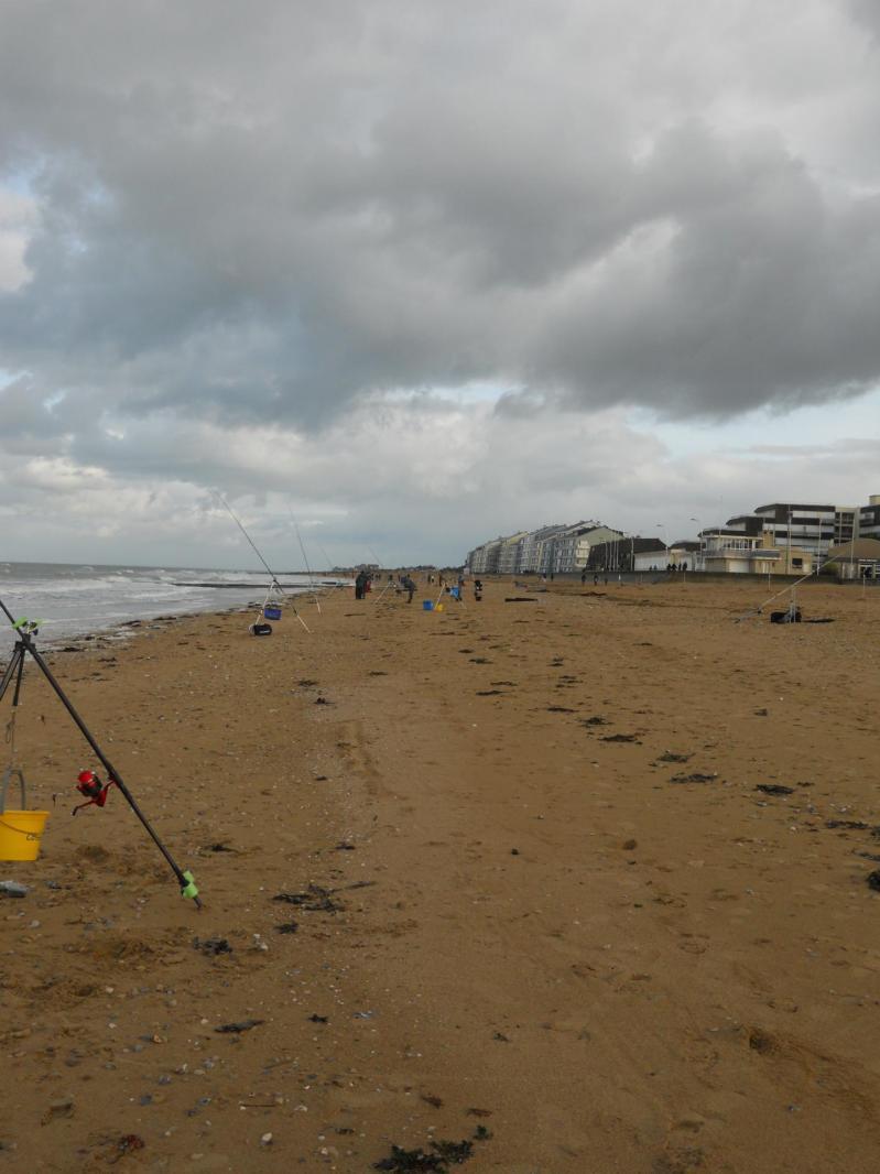 Vue d ensemble plage de courseulles sur mer
